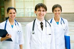 Doutores novos Fotografia de Stock Royalty Free