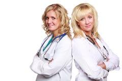 Doutores novos amigáveis Fotografia de Stock