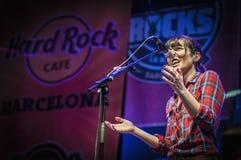 Douvres exécute à la La Merce de roches de hard rock photographie stock