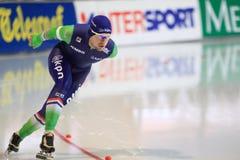 Douwe de Vries - speed skating Royalty Free Stock Image