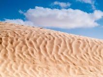 Douz, ландшафт пустыни, Сахара, Тунис, Африка Стоковое Фото
