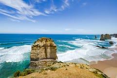 Douze apôtres, Australie, apôtres de la formation de roche douze Image libre de droits