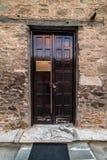 Douze apôtres, près de rue d'Agiou Dimitriou, 2ème entrée arrière Photo libre de droits