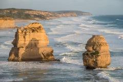 Douze apôtre, grande route d'océan, Victoria, Australie Photo libre de droits