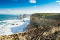 Douze apôtres, Australie Photos stock
