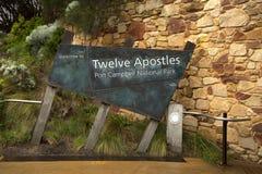 Douze apôtres en Australie Images stock
