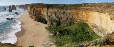 Douze apôtres - grande route d'océan Images libres de droits