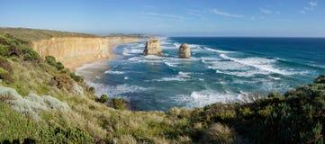 Douze apôtres - grande route d'océan Photo libre de droits
