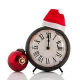 Douze heures au temps de Noël Photos libres de droits