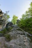 Dovbush岩石  免版税图库摄影