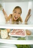 Dove è il mio alimento? Fotografia Stock Libera da Diritti
