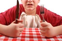Dove è il mio pranzo? Fotografie Stock Libere da Diritti