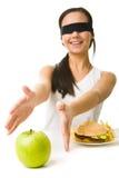 Dove è la mela? Fotografie Stock Libere da Diritti