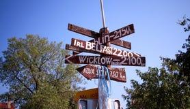 Dove andare? Fotografia Stock