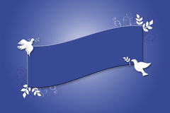 Dove Banner Stock Photography