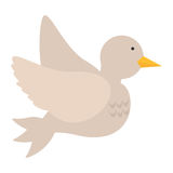 Dove bird love wedding symbol icon. Vector illustration eps 10 Royalty Free Stock Photography