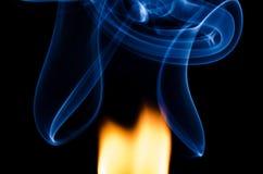 Dove c'è fuoco c'è fumo immagine stock libera da diritti