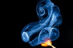 Dove c'è fuoco c'è fumo fotografie stock libere da diritti
