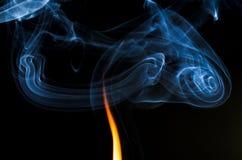 Dove c'è fuoco c'è fumo immagine stock