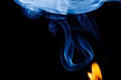 Dove c'è fuoco c'è fumo fotografie stock