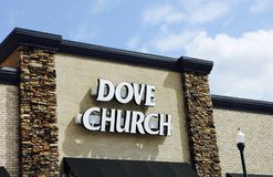 Dove Church Stock Photography