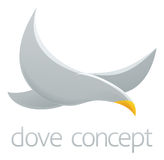 Dove concept design Royalty Free Stock Image