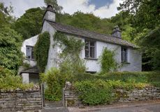 Dove Cottage, Cumbria. Dove Cottage, the home of poet William Wordsworth. Grasmere, Cumbria, England Royalty Free Stock Photo