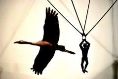 Dove Eagles osa Immagini Stock