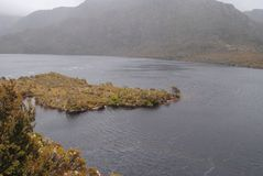 Dove Lake. Beautiful Dove Lake, at Cradle Mountain in Tasmania Royalty Free Stock Photography