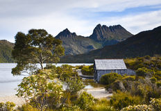 Dove Lake and Cradle Mountain Stock Image