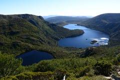 Dove Lake and Lake Wilks Stock Image
