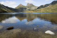 Dove lake reflections Royalty Free Stock Photography
