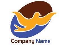 Dove logo Royalty Free Stock Photo