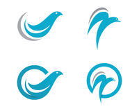 Dove logo Template Vector Stock Images