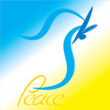 Dove of peace.eps Stock Image