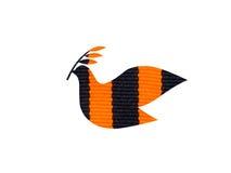 Dove peace symbol made of Saint George ribbon Stock Photography