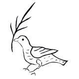 Dove of peace (vector) Royalty Free Stock Photos