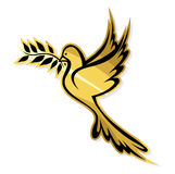 Dove of Peace. Vector illustration of the Dove of Peace Royalty Free Stock Photography