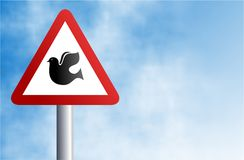 Dove sign Royalty Free Stock Photography