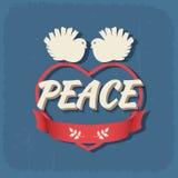 Dove symbol of peace Royalty Free Stock Photos