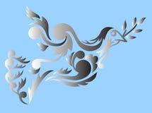 Dove tribal Stock Photo