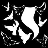Dove vector Royalty Free Stock Images