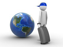 Dove volete viaggiare oggi? (I Americas) Immagini Stock