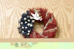 Dove Wreath Stock Photography
