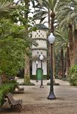 Dovecot. In park of the city of Elche Stock Images