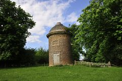 Dovecot on a hill. Royalty Free Stock Photography