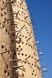 Dovecote в Катаре стоковая фотография