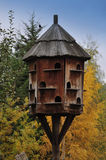Dovecote. Wooden dovecote in peaceful countryside Royalty Free Stock Photography
