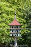 Dovecote w Röhrenseepark Bayreuth obrazy stock