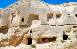 Dovecotes in Cappadocia Royalty Free Stock Photo